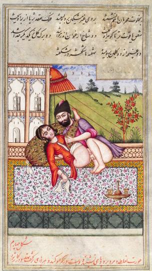 L0033250 Persian couple copulating