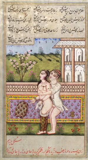 L0033264 Persian couple copulating