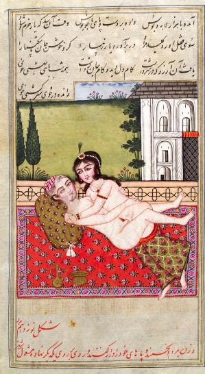 L0033271 Persian couple copulating