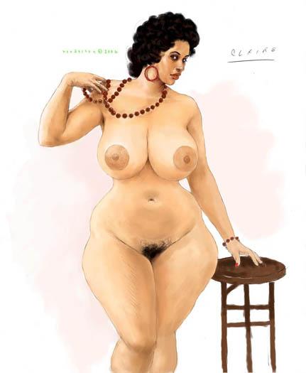 Фото голых баб с фигурой песочные часы