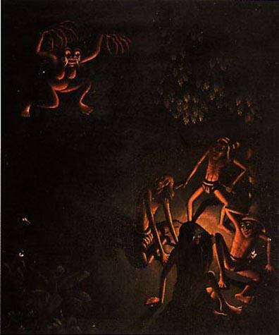 Walter Spies Calonarang c. 1927 56 x 46 cm