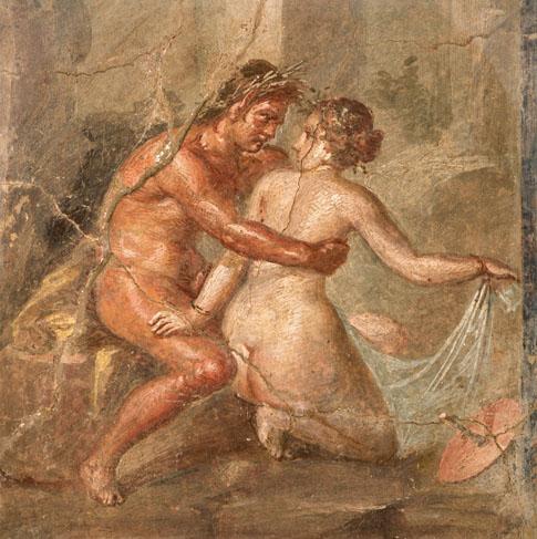 Fresco Painting From Pompeii